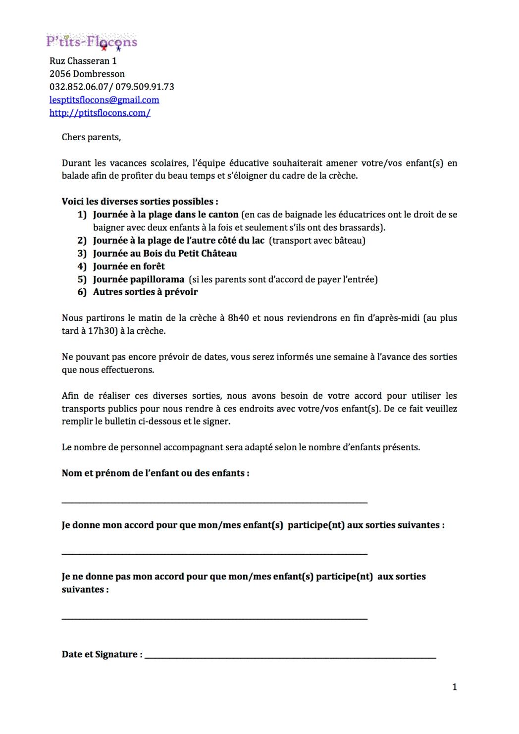 autorisationsorties